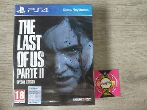 THE LAST OF US 2 PART II SPECIAL EDITION NUOVO RARO ELLIE JOEL PARTE