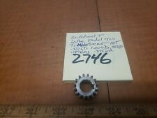 "Southbend lathe 9""Rare Model 420 Tumbler Gear .50id 16t 18dp .187 Key"