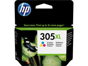 CARTOUCHE HP ORIGINALE 305XL COULEUR + CADEAUX ! / 3ym63ae 305 xl pas noir noire