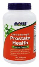Now Foods PROSTATE HEALTH Clinical Strength Formula  - 180 Softgels