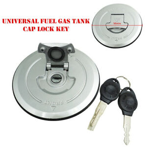 Universal Modification Motorcycle Fuel Gas Tank Cap Lock Key For CBF150 SDH150