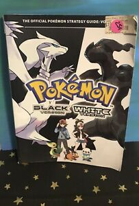 Nintendo Pokemon Black and White Strategy Guide Preowned