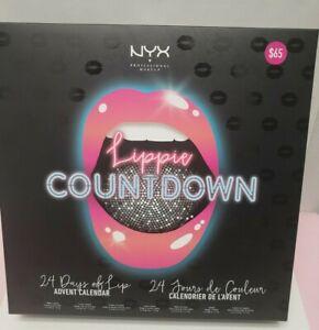 NYX LIPPIE COUNTDOWN 24 DAYS OF LIP ADVENT CALENDAR/LIPSTICK LIPGLOSS
