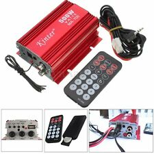 kinter MA-700 500W 12v Car Motorcycle 2CH Audio AMP Amplifier USB MP3 FM