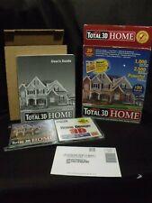 Total 3D Home 6.0 Design PC Software Floor Plans House Landscapes mcmansion