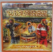 "DJ JS-1 KRS Record One Rahzel Essentials Choclair Solitair 12"" Hip Hop Rap LPS"