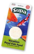 Supa Vacation Pond Fish Food 2 Week Holiday Block Feed for 2 Weeks