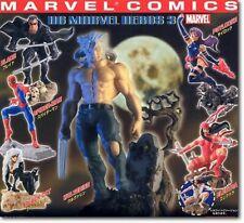 Marvel Heroes Gashapon Lot of 6 Blade Black Cat Psylocke + Excellent Condition