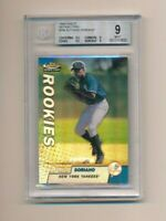 1999 Finest Refractors #286 Alfonso Soriano RC BGS 9