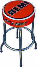 HEMI Swivel Bar Stool Performance Cuda  Dodge Plymouth Mopar road runner srt 426