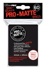 1 Case 720 Ultra PRO - Small Size - BLACK Pro Matte Sleeves - 84021
