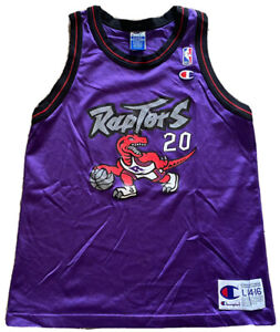Vintage NBA Jersey Champion L Damon Stoudamire Jersey Toronto Raptors Jersey