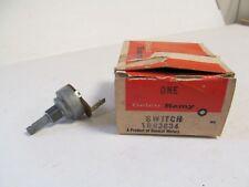 1964-1965 Chevy Malibu Olds Cutlass Skylark NOS GM 1 Spd Wiper Switch 1993634
