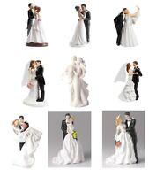 Bride & Groom Wedding Cake Toppers - NON EDIBLE