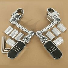 Front Only 2x Black Skull Foot Pegs L/&R For Honda Gold Wing GL1800 2001-2018