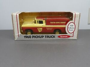 ERTL Classic 1960 Pickup Truck Bank 1:25 Tractor Supply Co. New in The Box