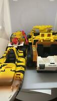 Lot of 3 Vintage - Gi Joe Tiger Force Vehicles - Boat, Truck, & ATV - Incomplete