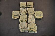 Lot of 10 US Individual First 1st Aid Kit OD Green Pouch Nylon ALICE IFAK