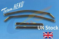 AUDI A4 B6 B7 Avant Estate 5-doors 2002-2009 4-pc Wind Deflectors HEKO Tinted
