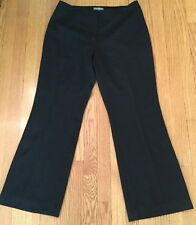 Ann Taylor Petites Dress pants Career Womens Black Sz 12P Petite