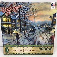 THOMAS KINKADE 1000 Pieces A CHRISTMAS STORY Movie PUZZLE Jigsaw CEACO - NEW