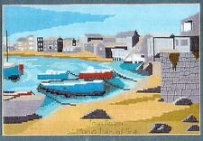 """Tandem Cottage Designs Counted Cross Stitch Kit """"Town Beach"""" - Isles of Scilly"""