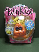 Orange BLINKIES Virtual Friend HandHeld Electronic keychain pet game Playmates