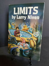 Limits Larry Niven Book 1st Edition Fantasy Science Fiction Outer Space Android