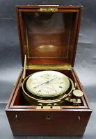 British Royal Navy Marine Ship Chronometer by John Fletcher of London, ca 1840