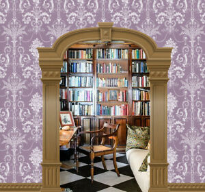 Dolls House Wallpaper Mural 1/12th  scale Mulberry Arch  Quality Paper #278B