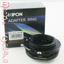 Kipon Tilt & Shift Adapter for Nikon F lens to Canon EOS M EF-M mount Mirrorless