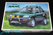 Aoshima 1/24 scale Toyota RAV4 L Tuning RV w/Sport Option Parts model kit(JDM)