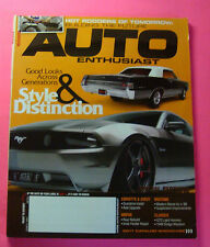 AUTO ENTHUSIAST MAGAZINE JUNE/2011..HOT RODDERS OF TOMORROW: BUILDING THE FUTURE