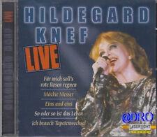 Hildegard Knef - CD - Tolles LIVE Album mit 12 starken Hits + Konzert + NEU +