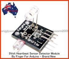 5V Heartbeat Sensor Senser Detector Module By Finger For Arduino - Brand New