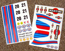 RC Martini Baja VW Proline Traxxas stickers decals