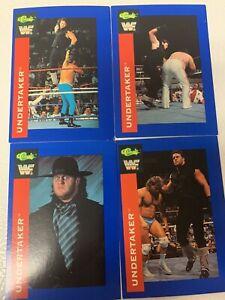 The Undertaker 1991 Classic WWF 4 Card Rookie Lot RC WWE PSA