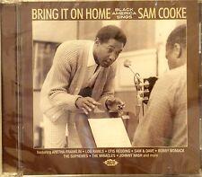 BRING IT HOME 'Black America Sings' SAM COOKE - 24 VA Tracks on ACE