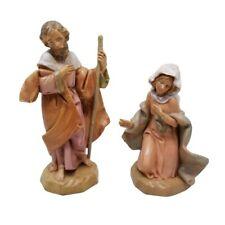 Fontanini Figurine Italy Collectible MARY JOSEPH Nativity Village 5 inch Scale