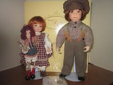 Donna RuBert & Kelly RuBert-Collectible Concepts-Patrick & Katy Porcelain Dolls
