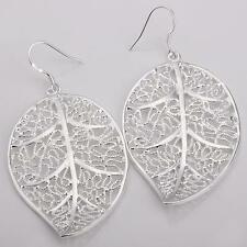NEW Wholesale latest Fashion jewelry Charm chic 925silver Earring+Gift box