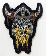 VIKING SKULL embroidered PATCH
