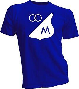 MILLONARIOS FC Football Club de Colombia Soccer T-SHIRT Camiseta NEW Handmade