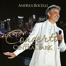 ANDREA BOCELLI - CONCERTO: ONE NIGHT IN CENTRAL PARK (REMASTERED)  CD NEW+