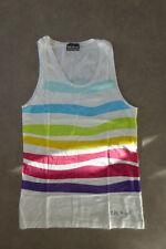 Top Sans Manche Blanc/Multicolore Little Marcel - L
