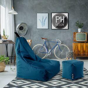 Patchhome Lounge Sessel- Würfel im Set Sitzsack Gamer Sitzkissen Beanbag  NEU
