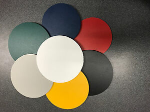 "(4 Pack) Gray PVC Sintra Circle 1/4"" Thick Circle Disc 6"" Diameter"