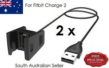 2X For Fitbit CHARGE 2 Wristband Replacement Charge Cable USB Charger AU SELLER