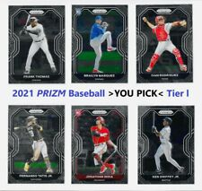 *YOU PICK* 2021 PRIZM Baseball Tier l ll lll 1-100 Base Complete Your Set