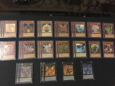 Yu-Gi-Oh - Hieratic Dragon Deck Lot - Full With Extra And Bonus Cards!!!